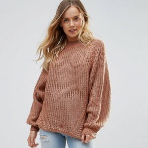 ASOS Brave Soul Cable Sweater